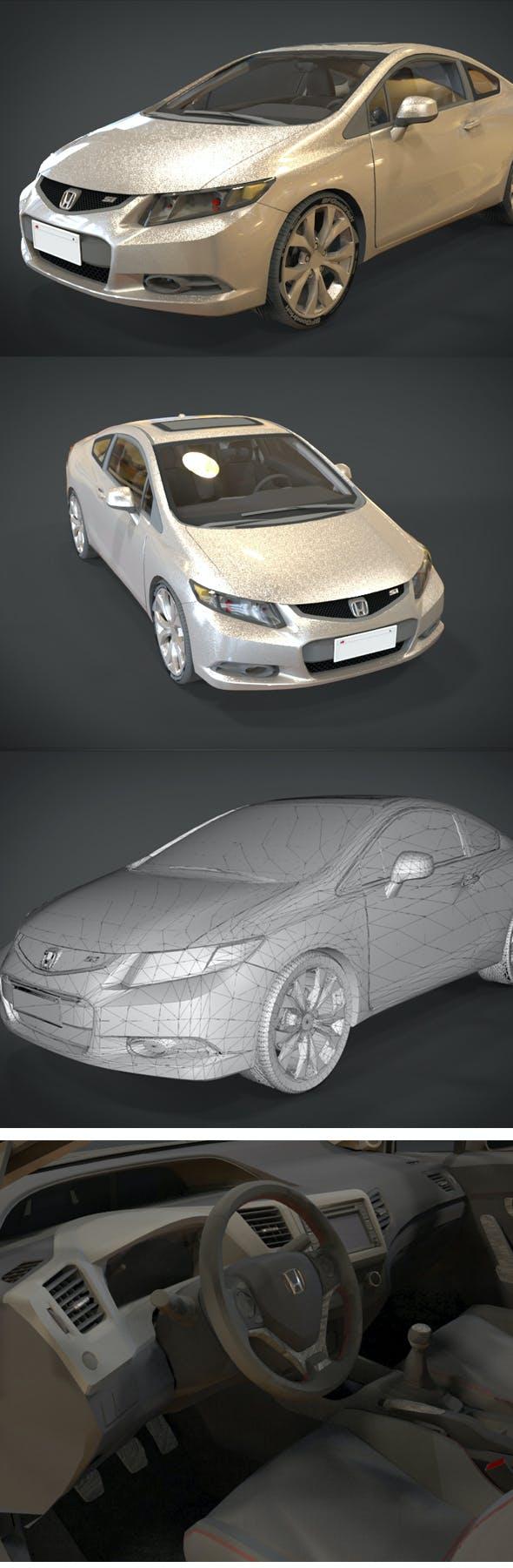 HONDA CIVIC Si - 3DOcean Item for Sale