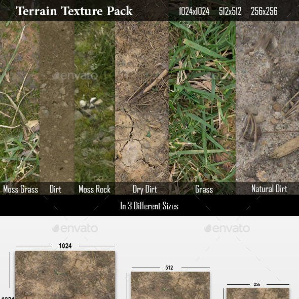 Terrain Texture pack for Video games