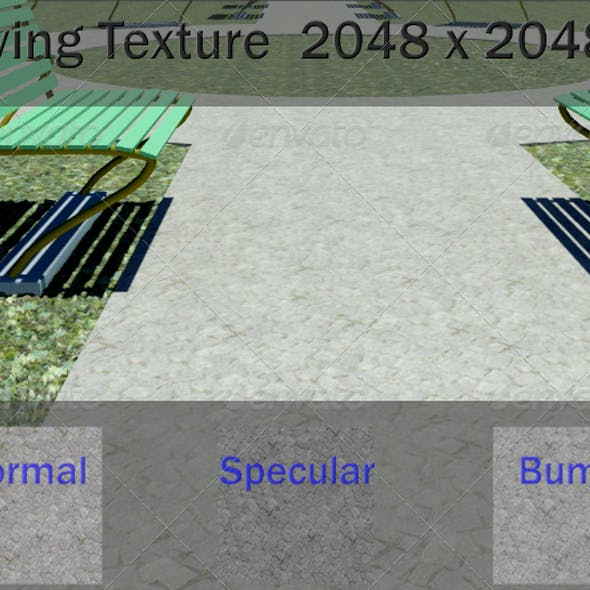 Ground Paving Texture