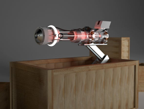 Ray Gun  - 3DOcean Item for Sale