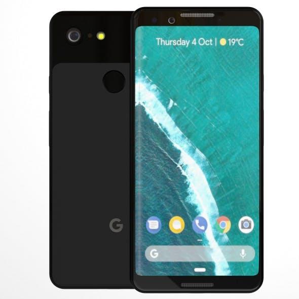 Google Pixel 3 Element 3D - 3DOcean Item for Sale