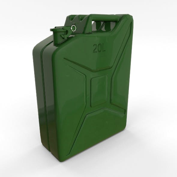 Jerry Can PBR - 3DOcean Item for Sale