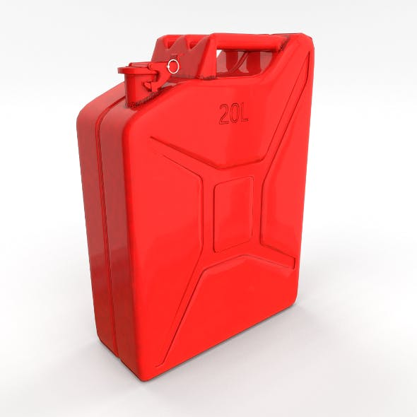 Jerry Can 2 PBR - 3DOcean Item for Sale