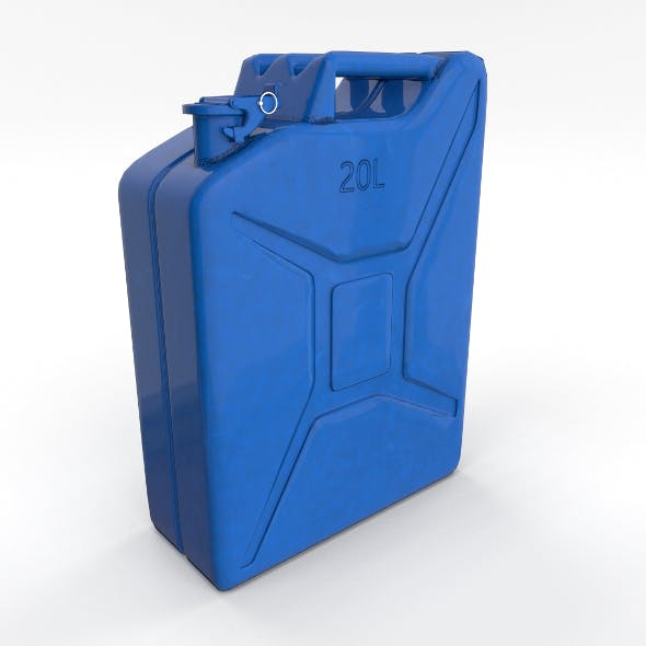 Jerry Can 3 PBR - 3DOcean Item for Sale