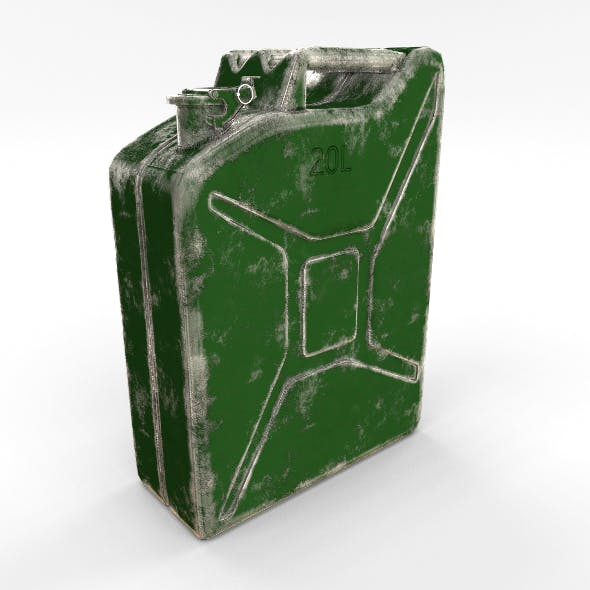 Jerry Can Worn PBR