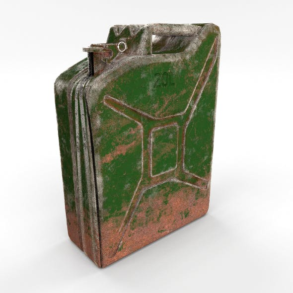 Jerry Can Weathered PBR