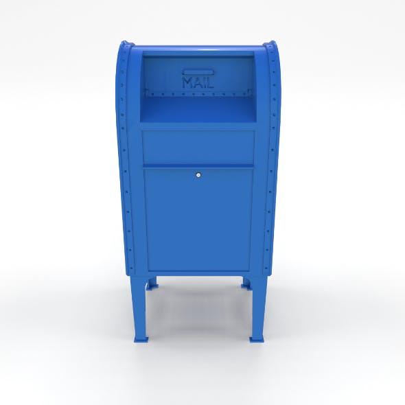 Mailbox Lowpoly PBR