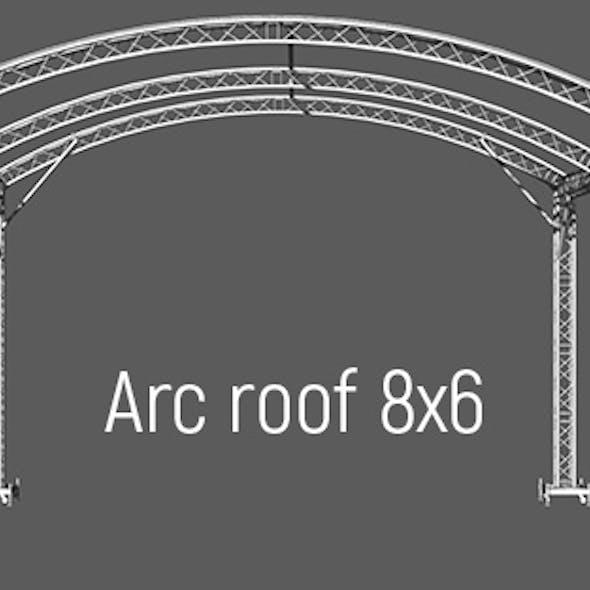Prolyte Arc roof 8x6m