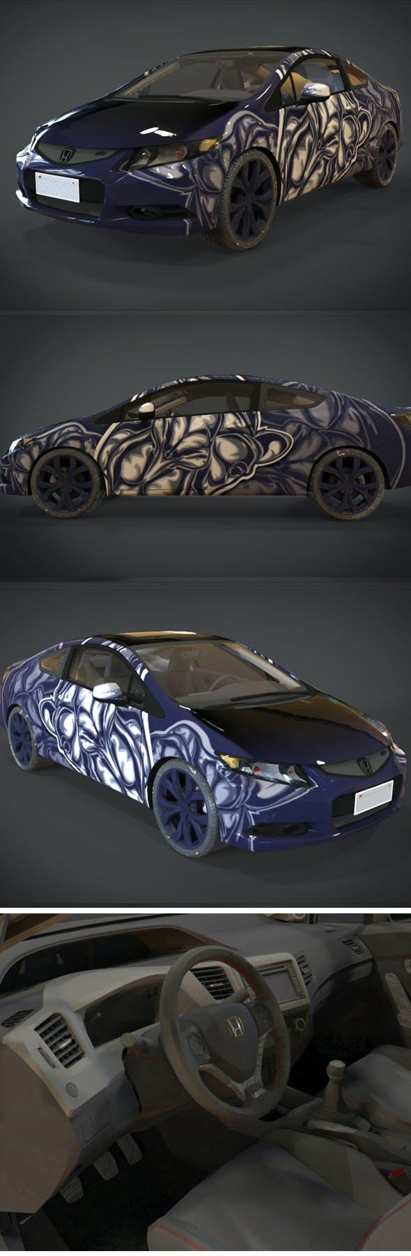 HONDA CIVIC Si Camel Texture Kit - 3DOcean Item for Sale