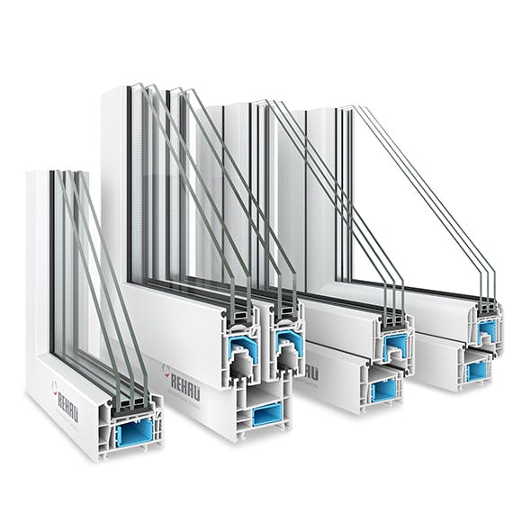 4 Rehau Window profiles