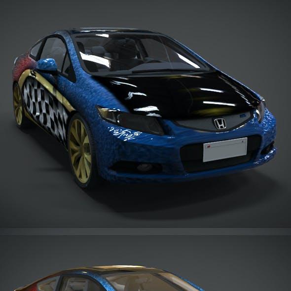 Honda Civic R and B Racing Kit