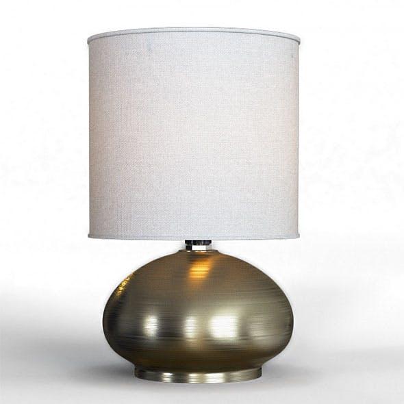 Julissa Table Lamp 3D model - 3DOcean Item for Sale
