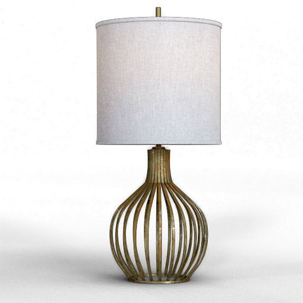 Bast Table Lamp - 3DOcean Item for Sale