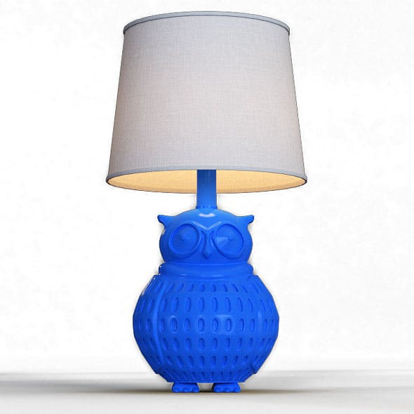 Bryan Table Lamp - 3DOcean Item for Sale