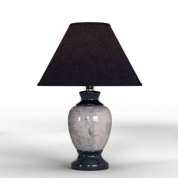 Merle Table Lamp - 3DOcean Item for Sale
