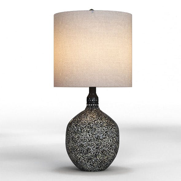 Pitkin table lamp - 3DOcean Item for Sale