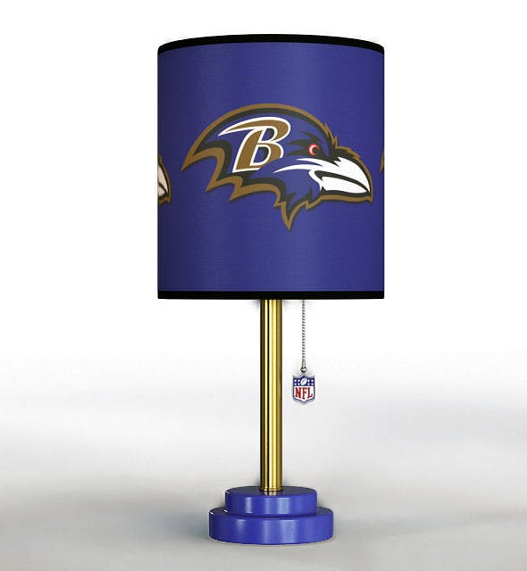 NFL Table Lamp - 3DOcean Item for Sale