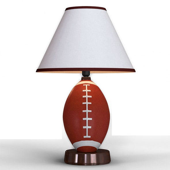 Kickoff Time table lamp - 3DOcean Item for Sale
