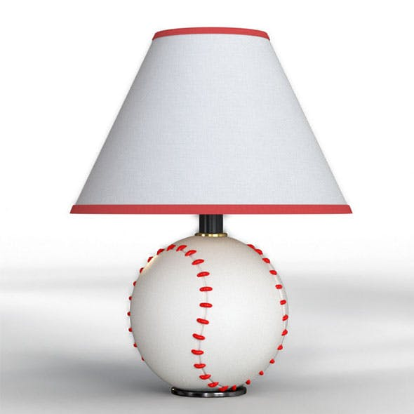 Tessa Baseball Table Lamp
