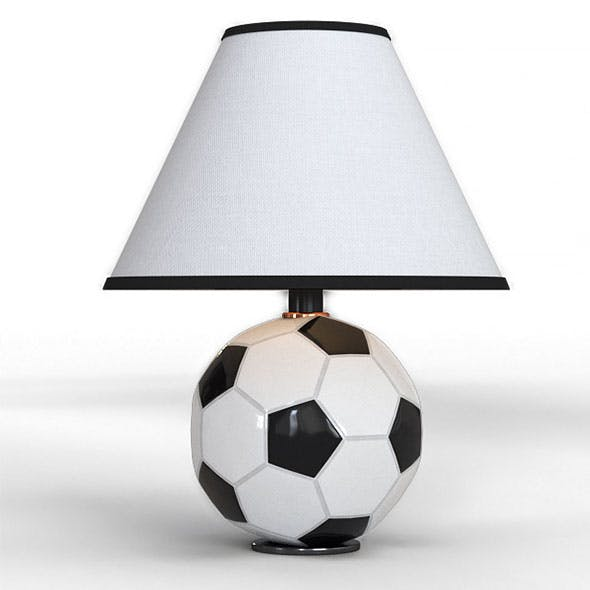 Futbol Table Lamp - 3DOcean Item for Sale