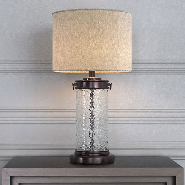 Blanchard Table Lamp - 3DOcean Item for Sale