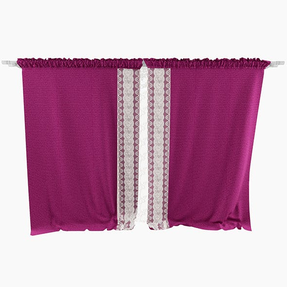 Curtain Velvet - 3DOcean Item for Sale