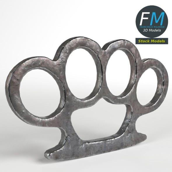 Brass Knuckles - 3DOcean Item for Sale