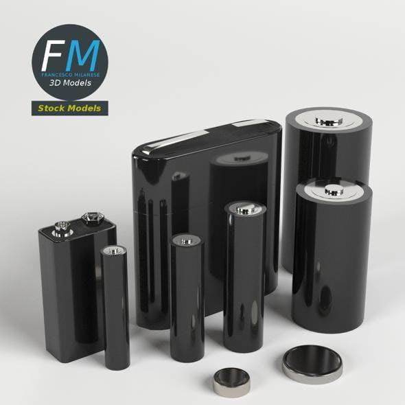 Batteries pack - 3DOcean Item for Sale