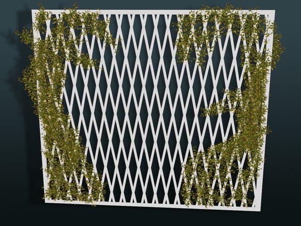 Decorative grid - 3DOcean Item for Sale