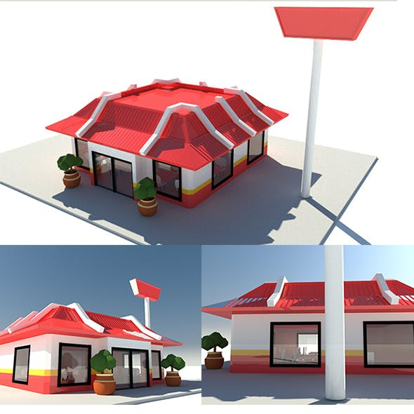 Fast Food Chain Store