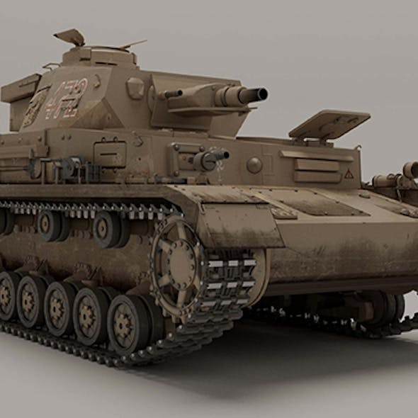 Panzerkampfwagen IV Ausf E without additional frontal armor
