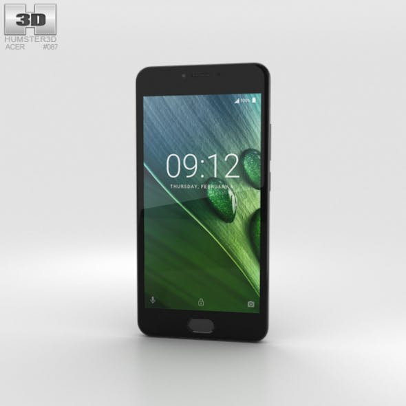 Acer Liquid Z6 Plus Gray - 3DOcean Item for Sale