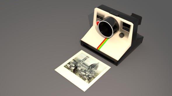 Instant Camera - 3DOcean Item for Sale