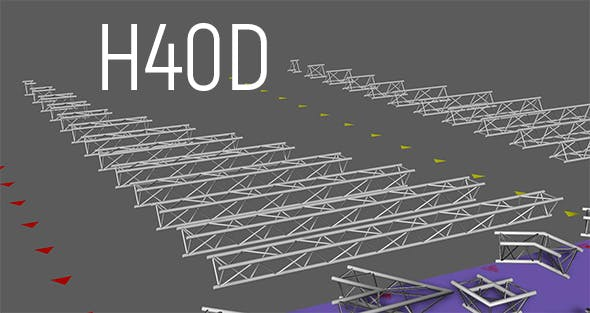 Ptolyte H40D triangular truss - 3DOcean Item for Sale