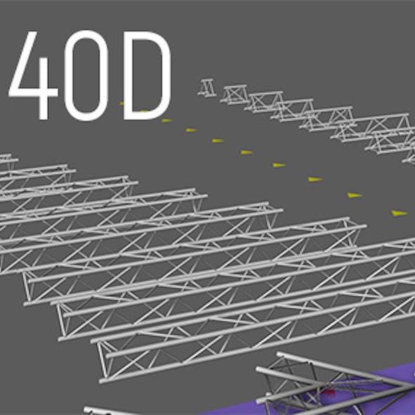 Ptolyte H40D triangular truss