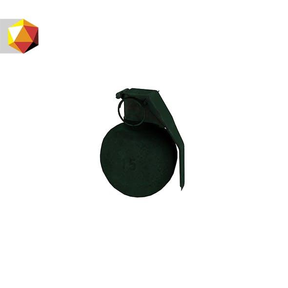 Hand Grenade - 3DOcean Item for Sale