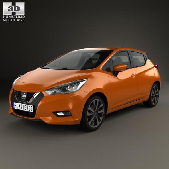 Nissan Micra 2016 - 3DOcean Item for Sale