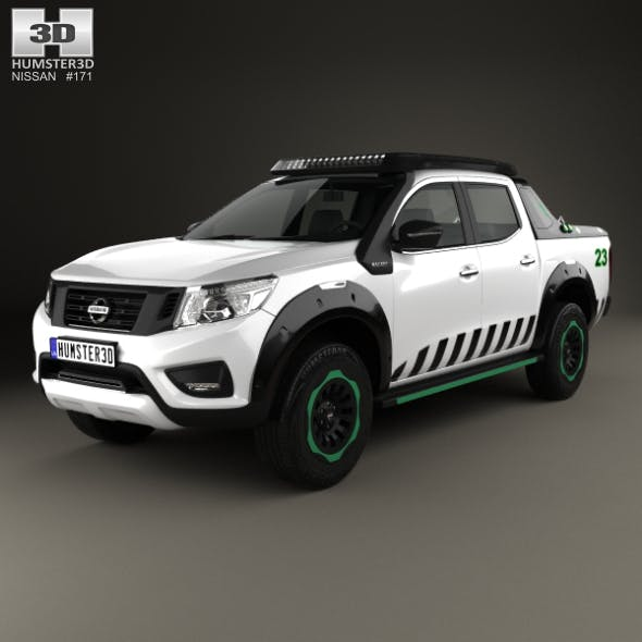 Nissan Navara EnGuard 2016 - 3DOcean Item for Sale