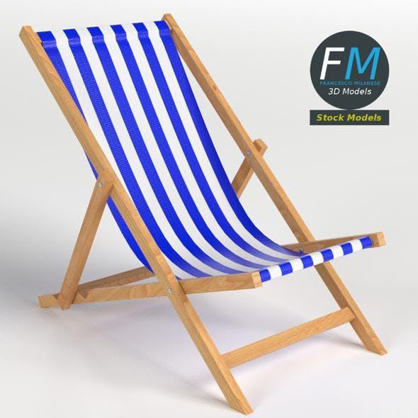 Beach Chair - 3DOcean Item for Sale