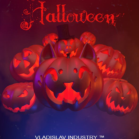 Halloween | Pumpkin | Celebration | Orange | Game | Fairy tale | The horrors | Food | Decor | Cat