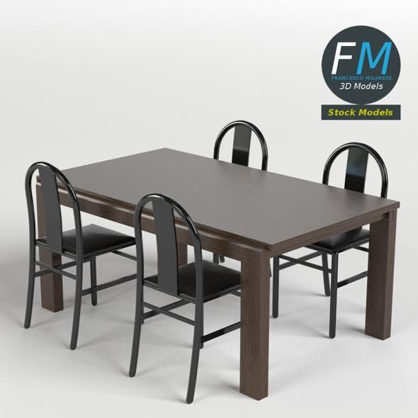 Table, Desk 6 - 3DOcean Item for Sale