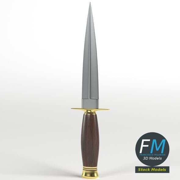 Decorative Dagger - 3DOcean Item for Sale