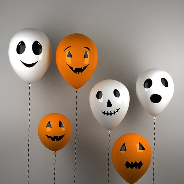 Halloween Balloons - animation