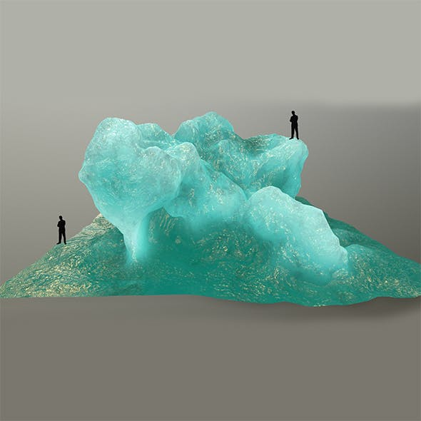 ice rock - 3DOcean Item for Sale
