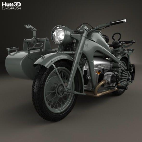 Zundapp KS750 1944 - 3DOcean Item for Sale