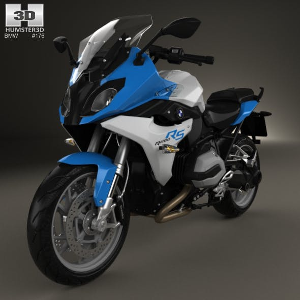 BMW R1200RS 2015 - 3DOcean Item for Sale