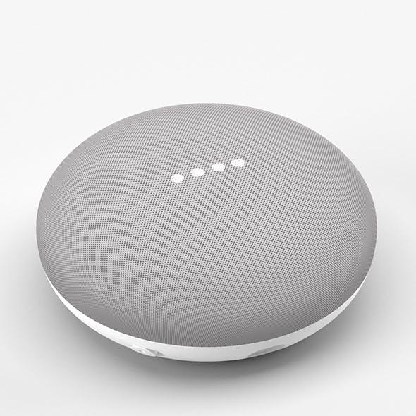 Google Home Mini Chalk - 3DOcean Item for Sale