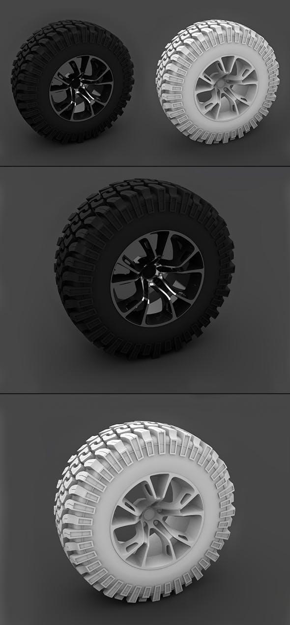 Wheel - 3DOcean Item for Sale