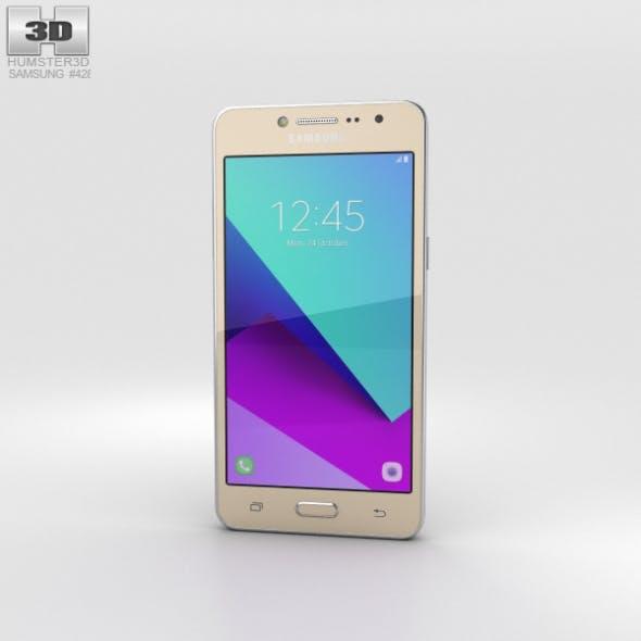 Samsung Galaxy J2 Prime Gold - 3DOcean Item for Sale