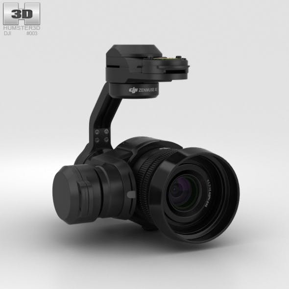 DJI Zenmuse X5 Camera - 3DOcean Item for Sale